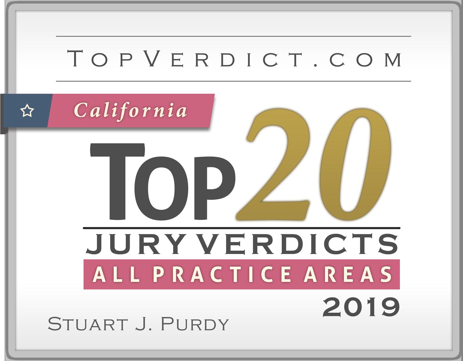 2019 Top 20 Verdict